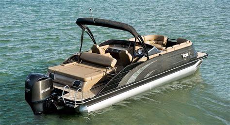 hurricane bass boats qx25 swingback fiberglass pontoon boats by bennington