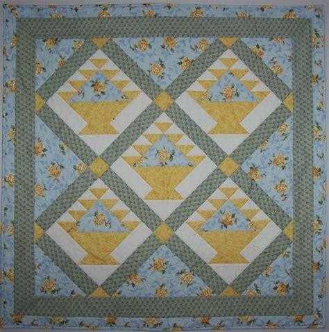 Quilt Pattern Flower Basket | flower basket quilt pattern instant download pdf file