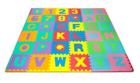 Alphabet Foam Floor Mat by 43 On Alphabet And Number Mat 96 Pc Livingsocial