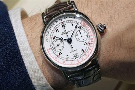 Welder Crono Stopwatch reviewing longines pulsometer chronograph replica