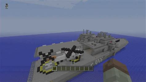 how to make a navy boat in minecraft minecraft naval ships youtube
