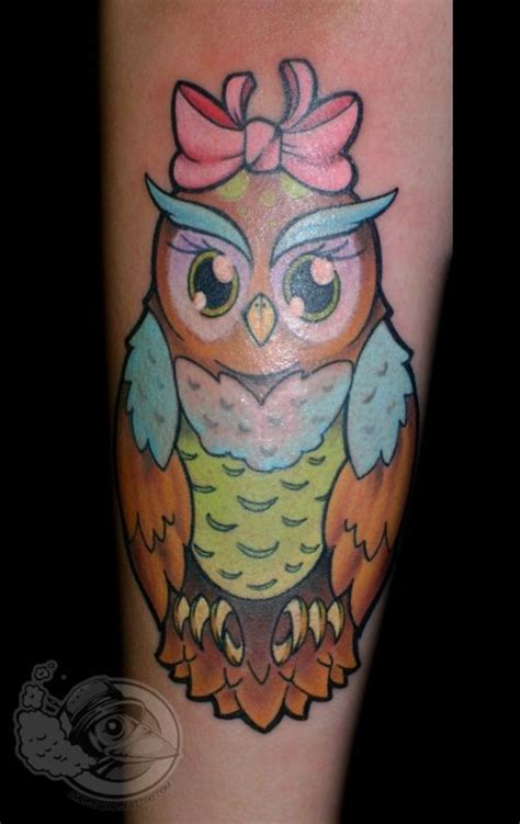 girly owl tattoo design 42 baby owl tattoos collection
