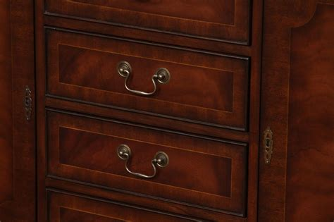 mahogany kitchen cabinet doors high end mahogany 5 door china cabinet ebay