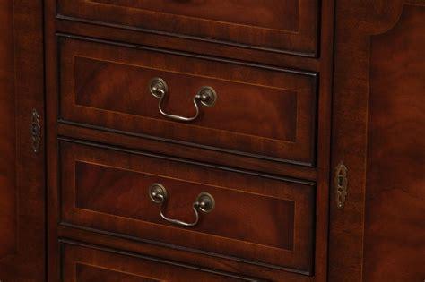 Mahogany Kitchen Cabinet Doors High End Mahogany 5 Door China Cabinet Ebay