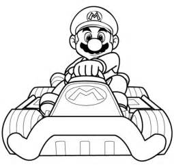printable mario kart coloring pages coloring