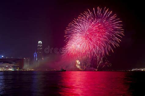 hong kong new year mp3 hong kong new year fireworks 2014 editorial stock