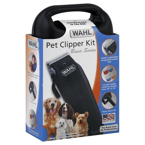 wahl dog clippers tutorial wahl basic series pet clipper kit 1 kit