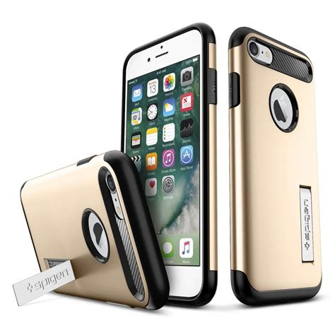 Iphone 7 Iphone 8 Spigen Slim Armor 042cs20302 Chagne Gold spigen 174 slim armor 042cs20302 iphone 8 7 chagne gold spaceboy