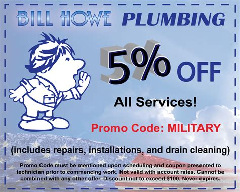 Bill Howe Plumbing San Diego by Coupons