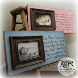 unique photo gifts gift personalized picture frame custom 8x20 baby shower