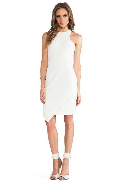 clarie dress elizabeth and new dress in white ecru lyst