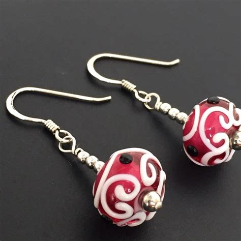 New Orleans Handmade Jewelry - 17 gemfox jewelry handmade glass earrings new