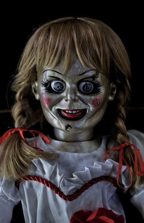 annabelle doll sell the conjuring 2 animatronic annabelle haunted horror