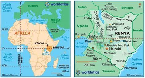 africa map with equator new plateaus spotlight daystar nairobi kenya