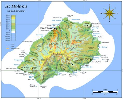 map st islands st helena island map st helena ascension tristan da