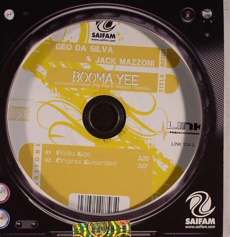 geo da silva jack mazzoni new releases booma yee on geo da silva jack mazzoni booma yee vinyl at juno records