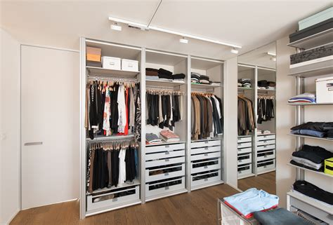 Open Wardrobe System by Modern Custom Made Wardrobes With Modular Layout Anyway