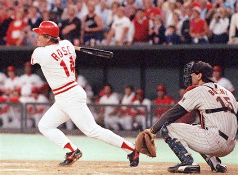 pete rose swing sept 11 1985 cincinnati s favorite son becomes baseball