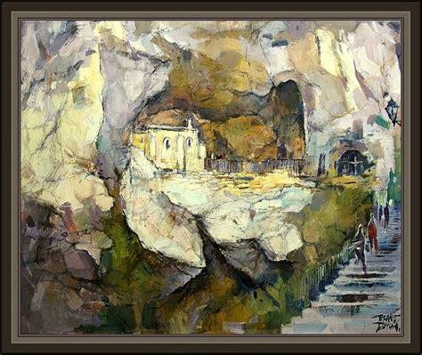 imagenes ocultas en cuadros religiosos cuadros ernest descals pinturas covadonga santuario