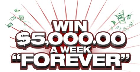 How Does Publishers Clearing House Work - win 5 000 a week forever say what must have mom