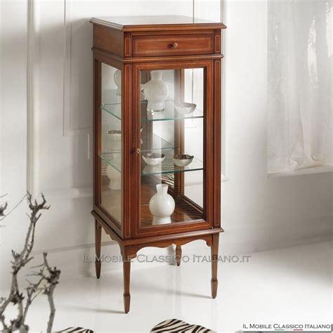 mobili vetrinette vetrinetta classica in ciliegio arredamento classico