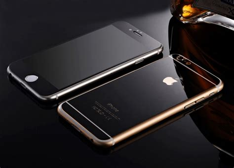 mirror effect tempered glass screen protector for iphone 5