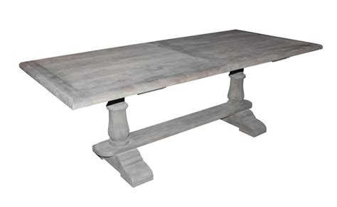 white washed wood dining table dining table washed wood dining table