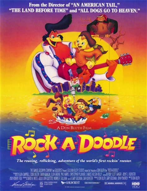 Ver Rock A Doodle Amigos Inseparables 1991
