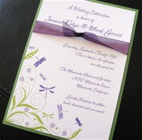 dragonfly wedding invitation template delux dragonfly wedding invitation kit cd krista weddi and