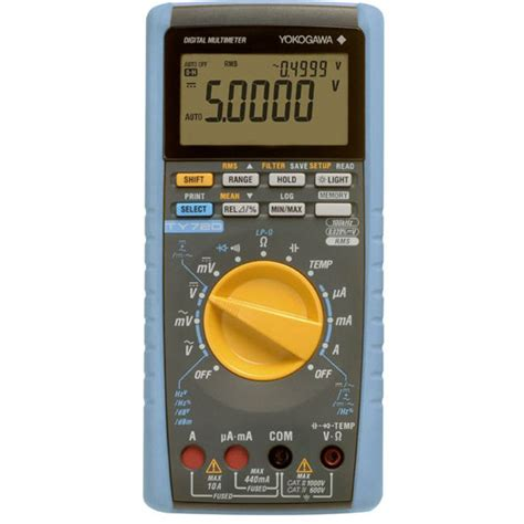 digital multimeter ty720 digital multimeters portable