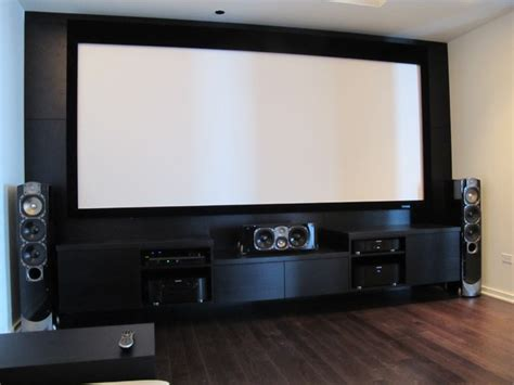 Custom Home Theater Media Center Home Theater Cabinet | custom media room entertainment center with greenfield