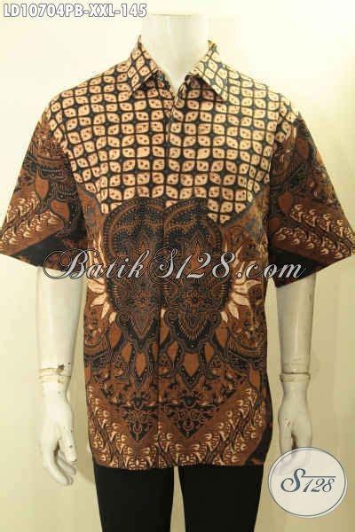 Baju Batik Pria Motif Kalijagalengan Pendek baju batik motif klasik pria gemuk kemeja batik