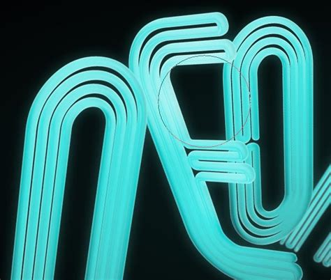 how to make 3d neon light typography photoshop gurus forum how to make 3d neon light typography