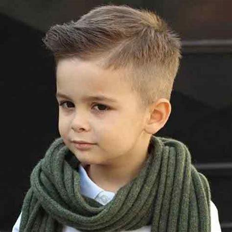 swept sideways boy hairstyles 23 cortes de pelo para ni 241 os peque 241 os 2018