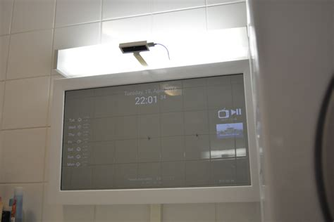 smart bathroom mirror smarter smartmirror tobias weis
