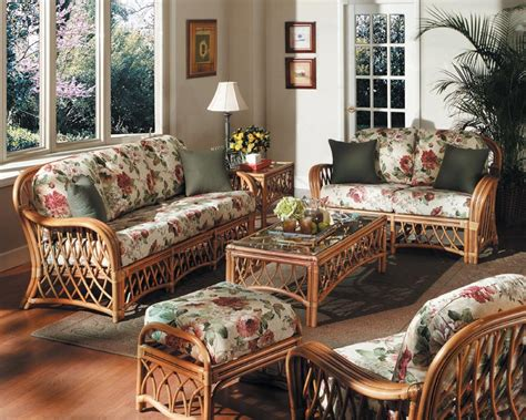 rattan living room set antigua indoor seat group code 3101 from american rattan