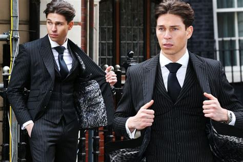 joey essex is suited and booted as he dresses up to start