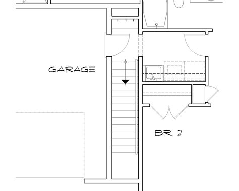 Floor Plans With Stairs by Country House Plan With 3 Bedrooms And 2 5 Baths Plan 4323