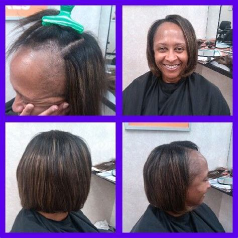glue in tracks different hair styles track on pinterest