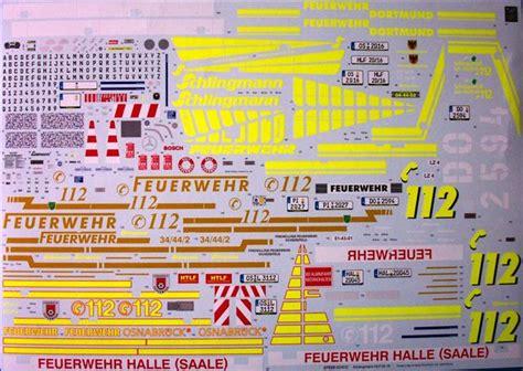 Feuerwehr Hamburg Aufkleber by Mercedes Atego 1529 Af Schlingmann Hlf 20 16 Revell