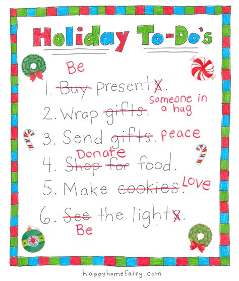 free printable holiday to do list your new holiday to do list free printable happy home