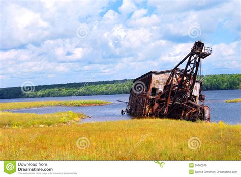 tractor supply sinking spring suction dredge in michigan royalty free stock images