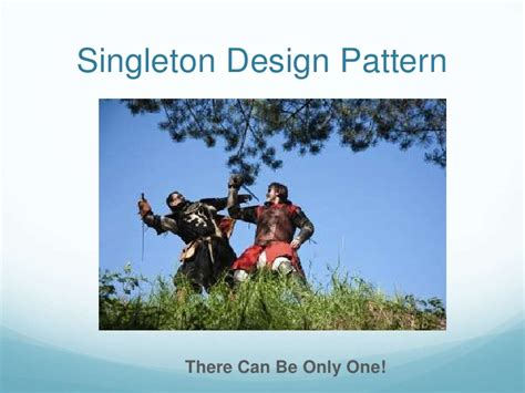 singleton pattern là gì how to implement the singleton design pattern
