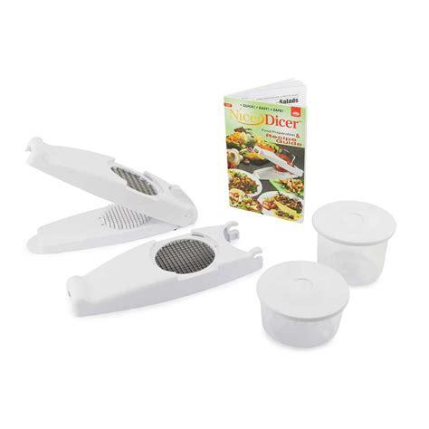 Nicer Multi Slicer Dicer Plus nicer dicer fruit slicer vegetable chopper