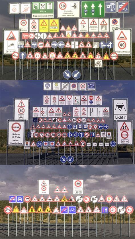 minecraft car pe road signs v1 0 ets 2 mods