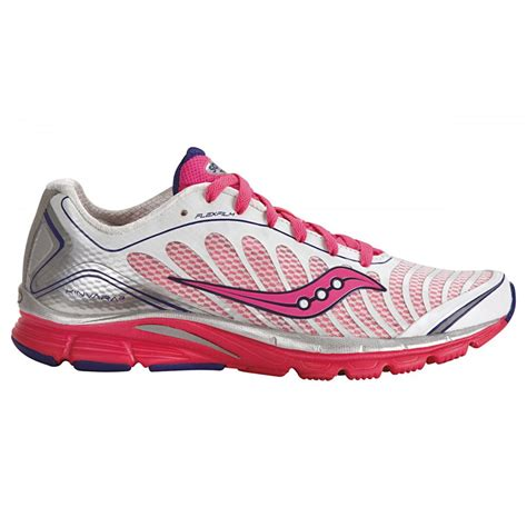 saucony running shoes progrid kinvara 3 road running shoes white pink s at