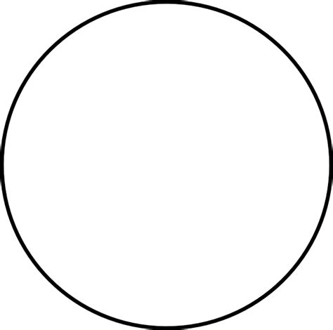 Circle Black Outline by Best Photos Of Circle Outline Clip Blue Circle Clip Black Circle Clip Free And