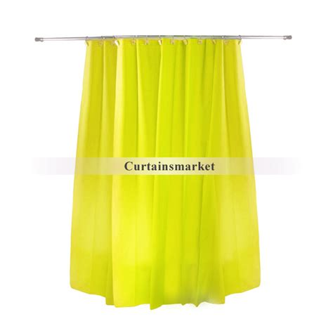 solid yellow shower curtain modern great solid design yellow shower curtain