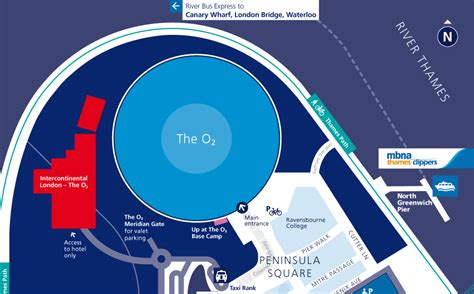 02 Arena Floor Plan by Maps Getting To The O2 The O2