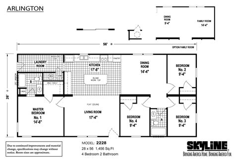 arlington house floor plan columbus ohio manufactured homes and modular homes for sale